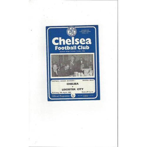 Chelsea v Leicester City 1963/64