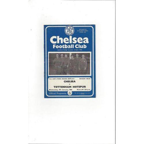 Chelsea v Tottenham Hotspur FA Cup Replay 1963/64