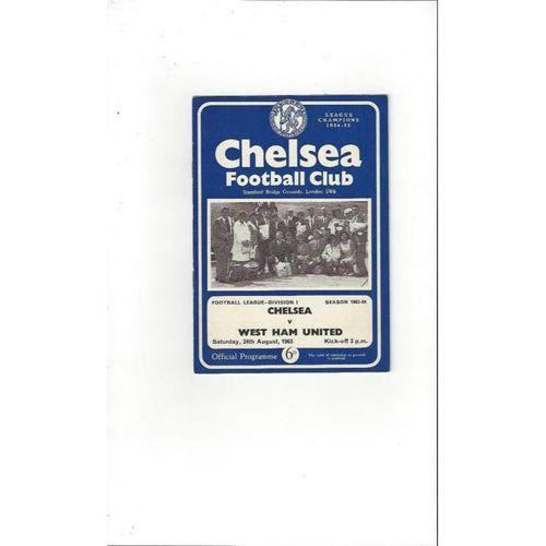 Chelsea v West Ham United 1963/64