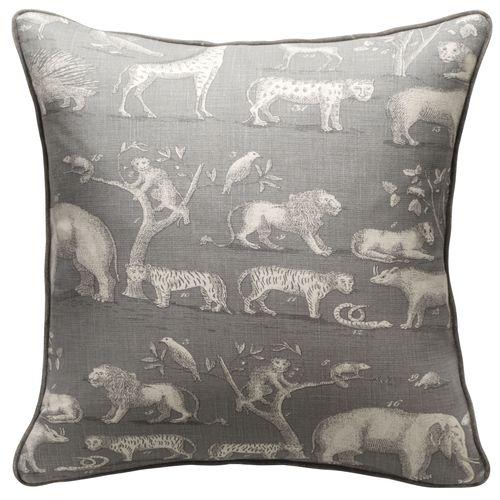 Kingdom cushion Storm Taupe