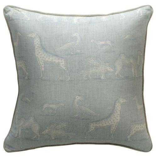 Kingdom cushion Powder Blue