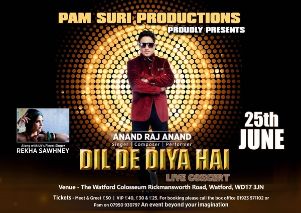 Event: Anand Raj Anand UK Concert