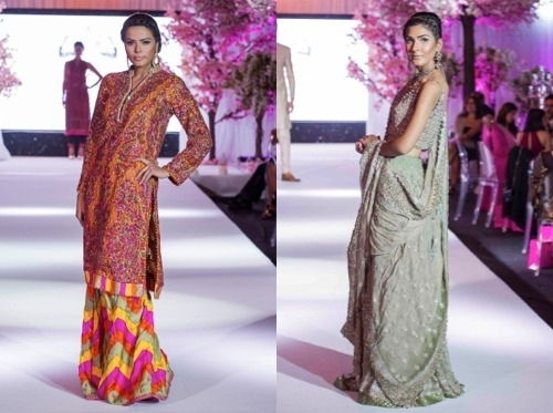 Luxury Edit Of South Asian Fashion And Jewellery Presented In London At Summer Preview