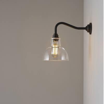 Glass York wall light