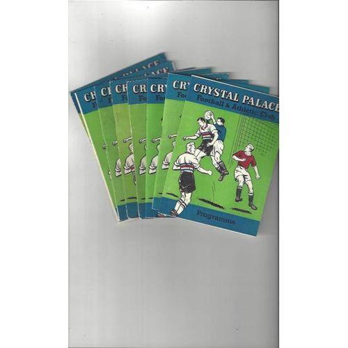 Mixed Bundles of Football Programmes