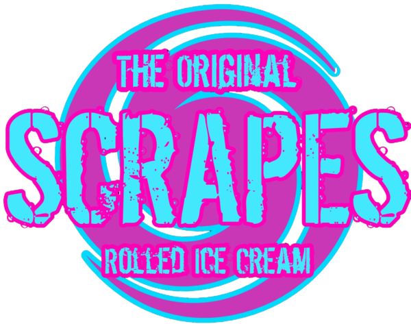 Scrapes - Rolled Ice Cream