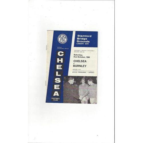 Chelsea v Burnley 1964/65