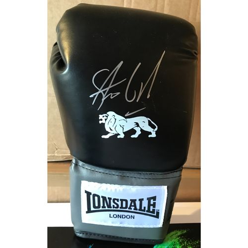 Signed Steve Collins Glove