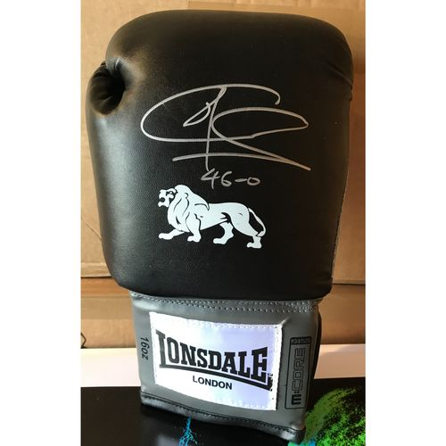 Hand Signed Calzaghe Boxing Glove