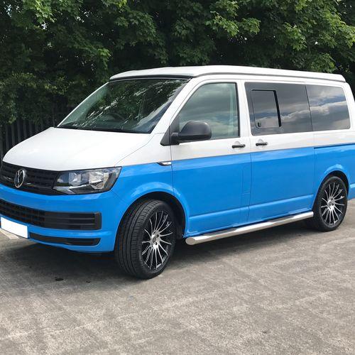 Volkswagen T6 Sky Blue & White Two Tone - £32,250.00 (inc. VAT)