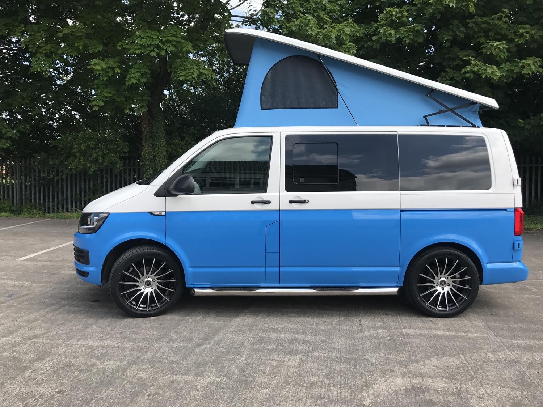 100 Blue Volkswagen Van Camper U2013 Mark Spizzirri