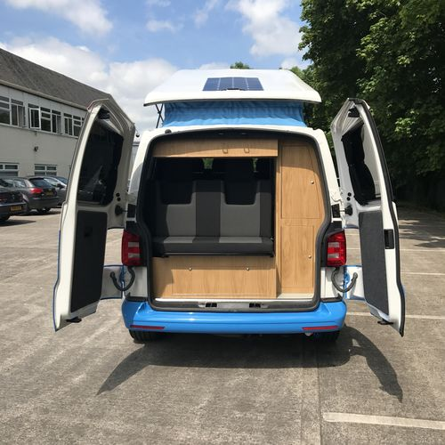 Volkswagen T6 Sky Blue & White Two Tone - £31,000.00 (inc. VAT)