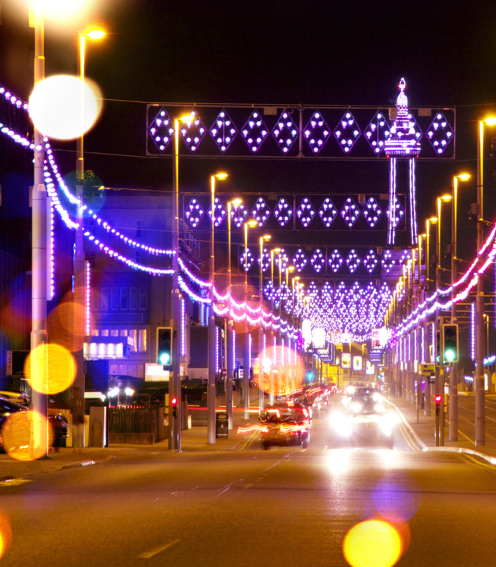 Blackpool Illuminations Cavendish Hotel B and B