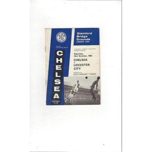 Chelsea v Leicester City 1965/66