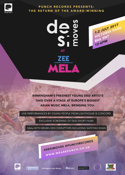Event: Desi Moves Talent Corner & Short Films & At Zee Sandwell & Birmingham Mela