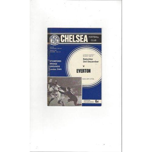 Chelsea v Everton 1966/67