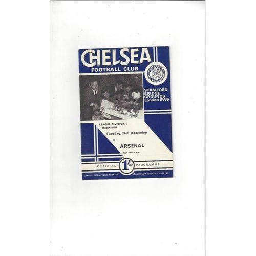 Chelsea v Arsenal 1967/68