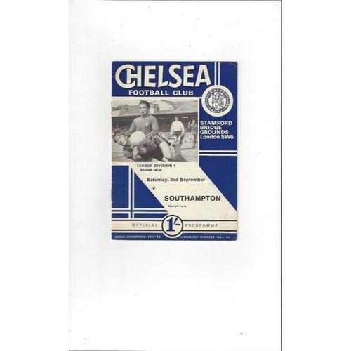 Chelsea v Southampton 1967/68