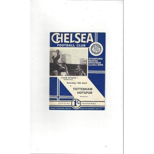 Chelsea v Tottenham Hotspur 1967/68
