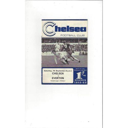 Chelsea v Everton 1968/69