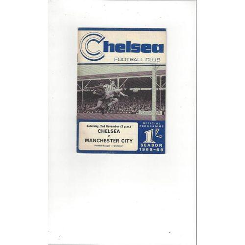 Chelsea v Manchester City 1968/69