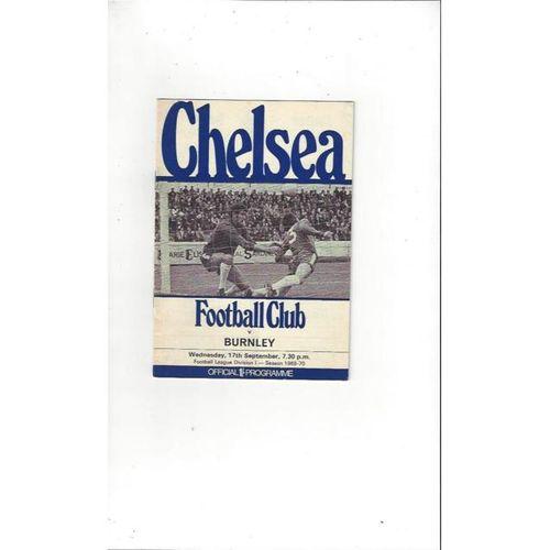 Chelsea v Burnley 1969/70