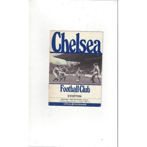 Chelsea v Everton 1969/70