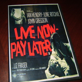 live now- pay later 1962 dvd ian hendry june ritchie