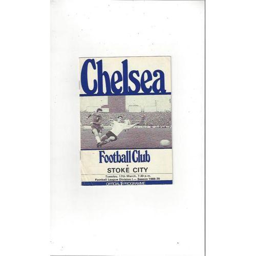 Chelsea v Stoke City 1969/70