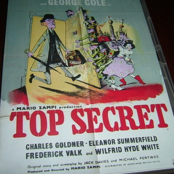 top secret 1952 dvd george cole