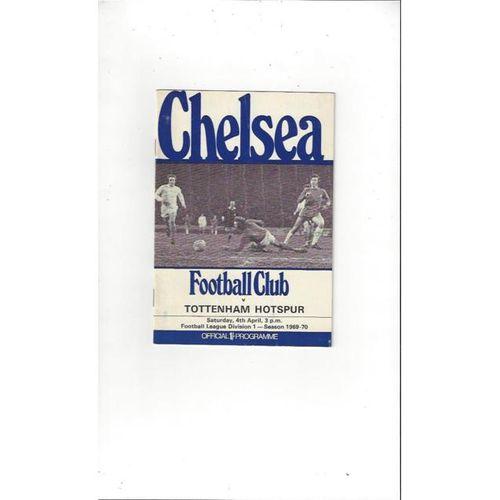 Chelsea v Tottenham Hotspur 1969/70