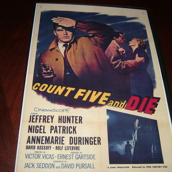 count five and die 1957 dvd nigel patrick jeffrey hunter