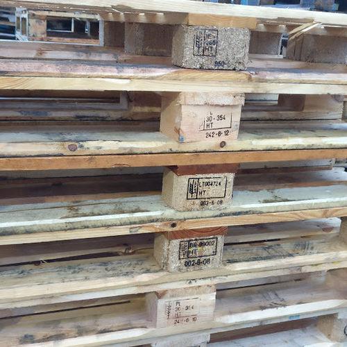 Heat Treated Wooden Pallets