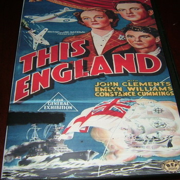 this england 1941 dvd john clements emlyn williams