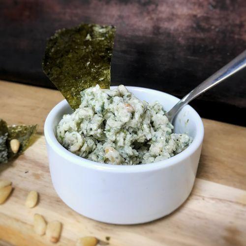 Pine Nut and Seaweed Granita
