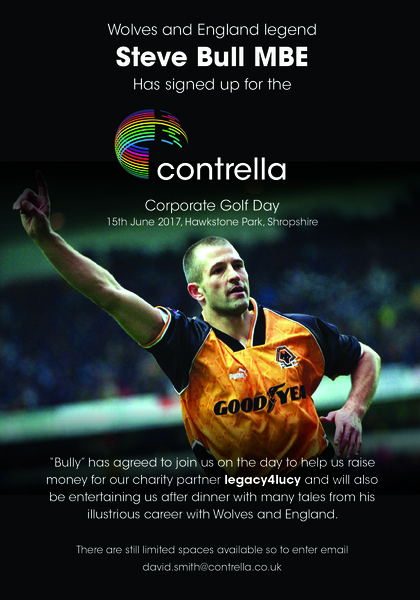 Contrella Corporate Golf Day With Steve Bull
