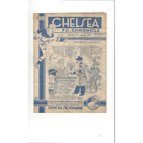 Chelsea v Arsenal FA Cup 1938/39