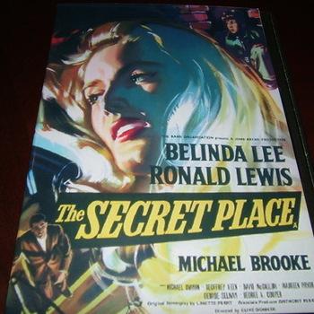 the secret place 1957 dvd belinda lee ronald lewis