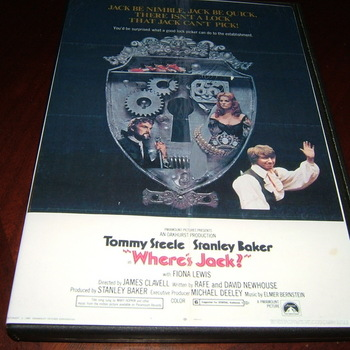 where's jack ? 1969 dvd tommy steele stanley baker