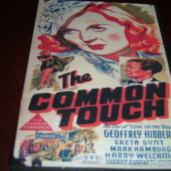 the common touch 1941 dvd greta gynt