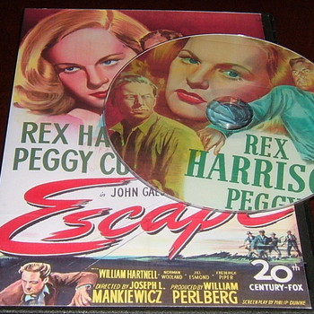 escape 1948 dvd rex harrison peggy cummings