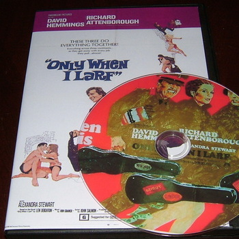 only when i larf 1968 dvd richard attenborough david hemmings