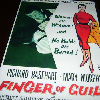 finger of guilt 196 dvd richard basehart