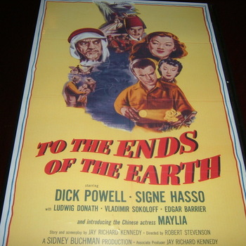 to the ends of the earth 1948 dvd dick powell