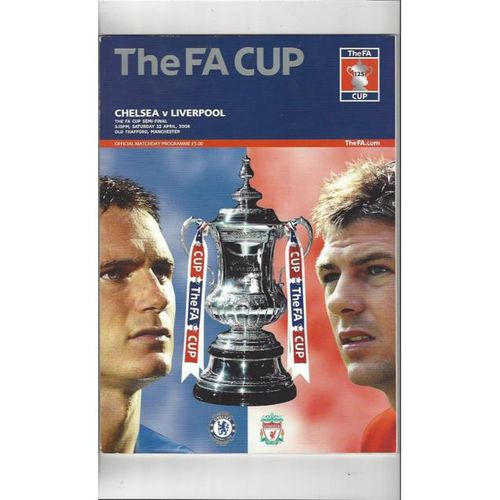 Chelsea v Liverpool FA Cup Semi Final 2006