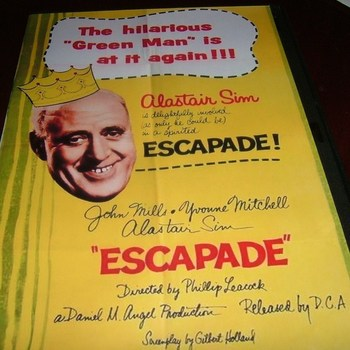 escapade 1956 dvd john mills alastair sim