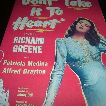don't take it to heart 1944 dvd richard green patricia medina