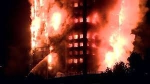 Large Fire at West London Tower Block!
