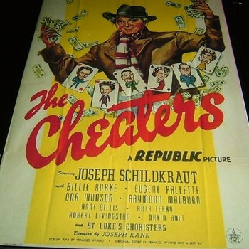 the cheaters 1945 dvd