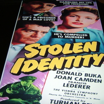 stolen identity 1953 dvd donald buka